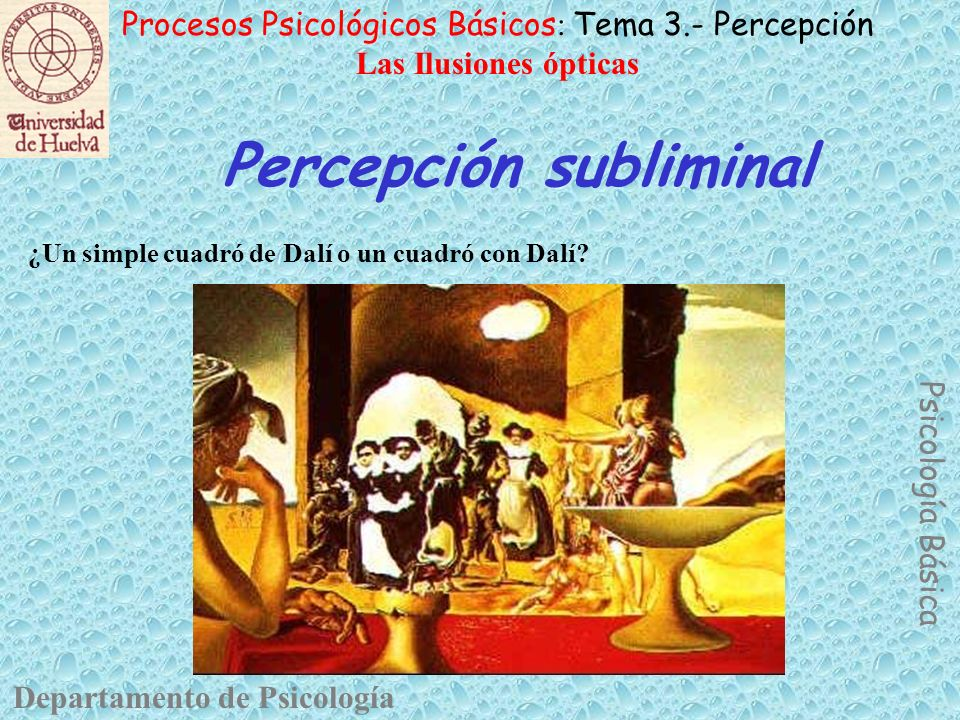 Percepción subliminal
