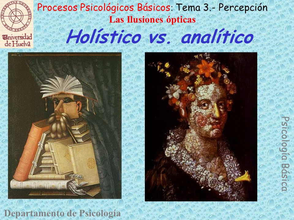 Holístico vs. analítico