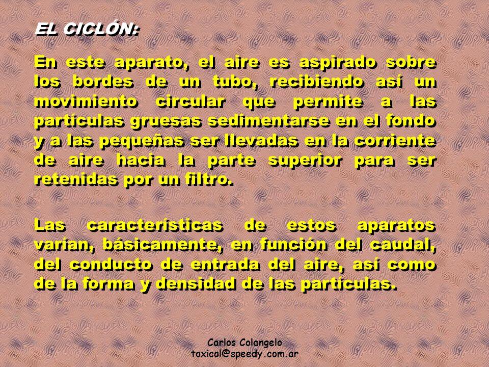 EL CICLÓN: