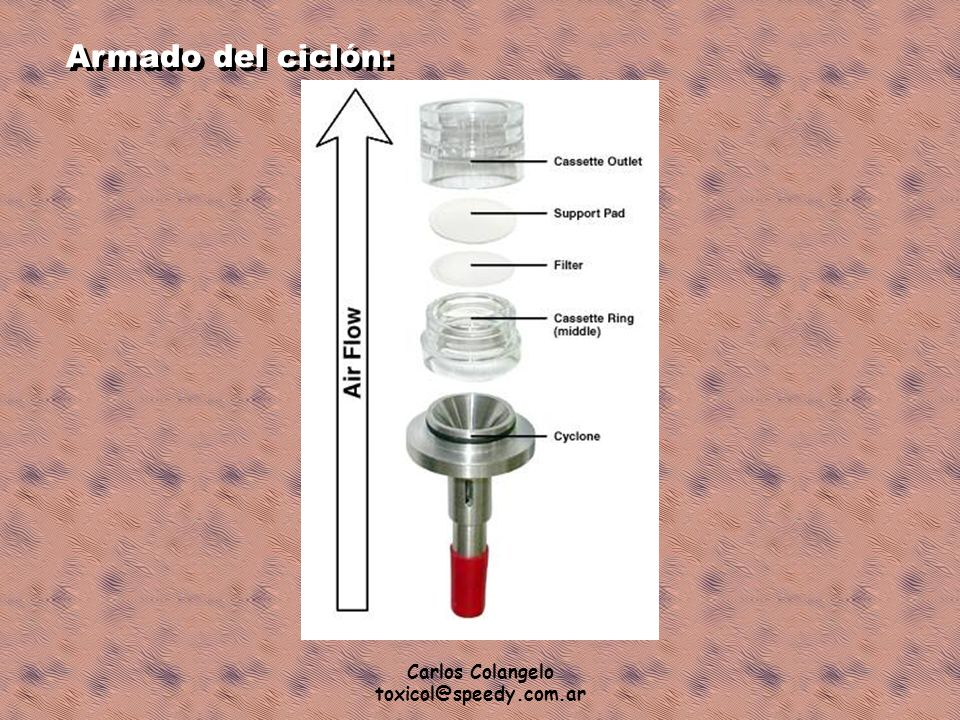 Armado del ciclón: Carlos Colangelo toxicol@speedy.com.ar