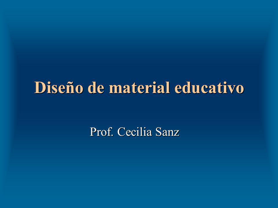 Diseño de material educativo