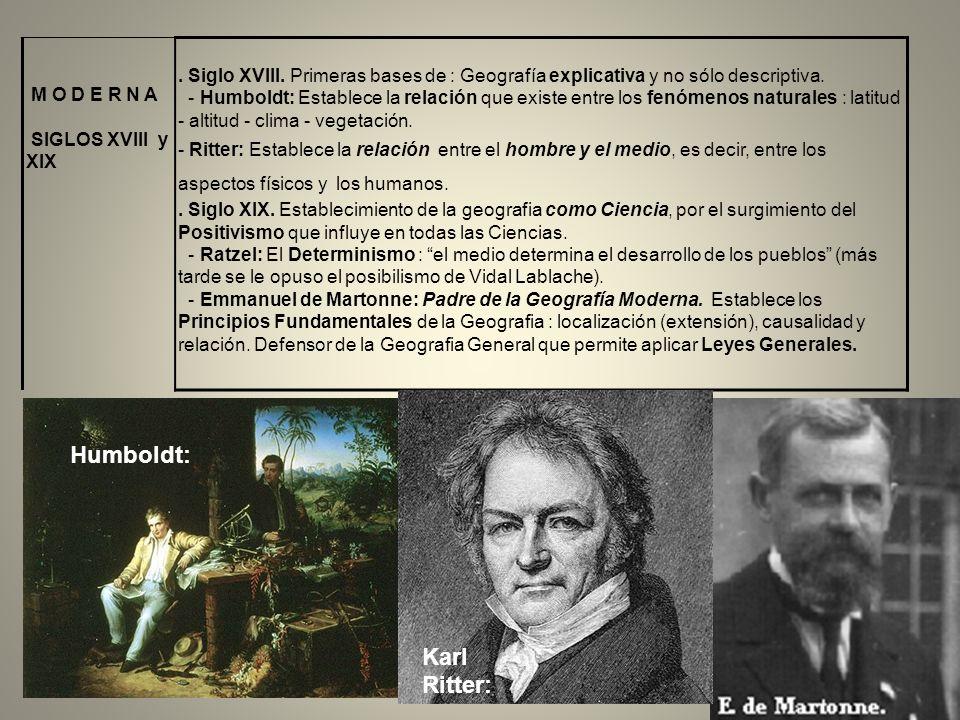 Humboldt: Karl Ritter: