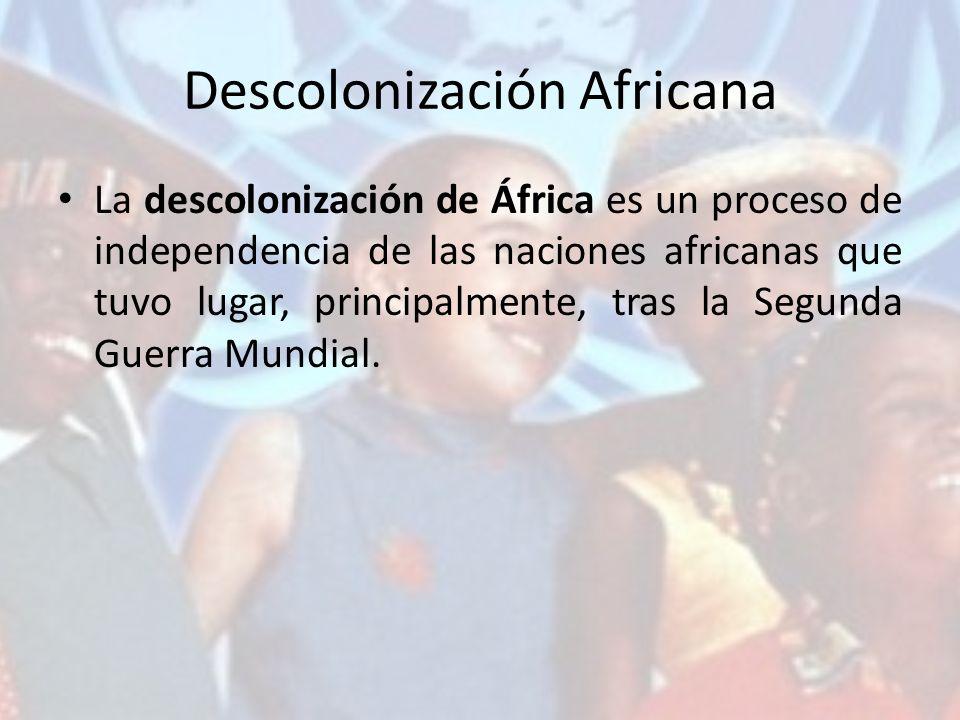 Descolonización Africana