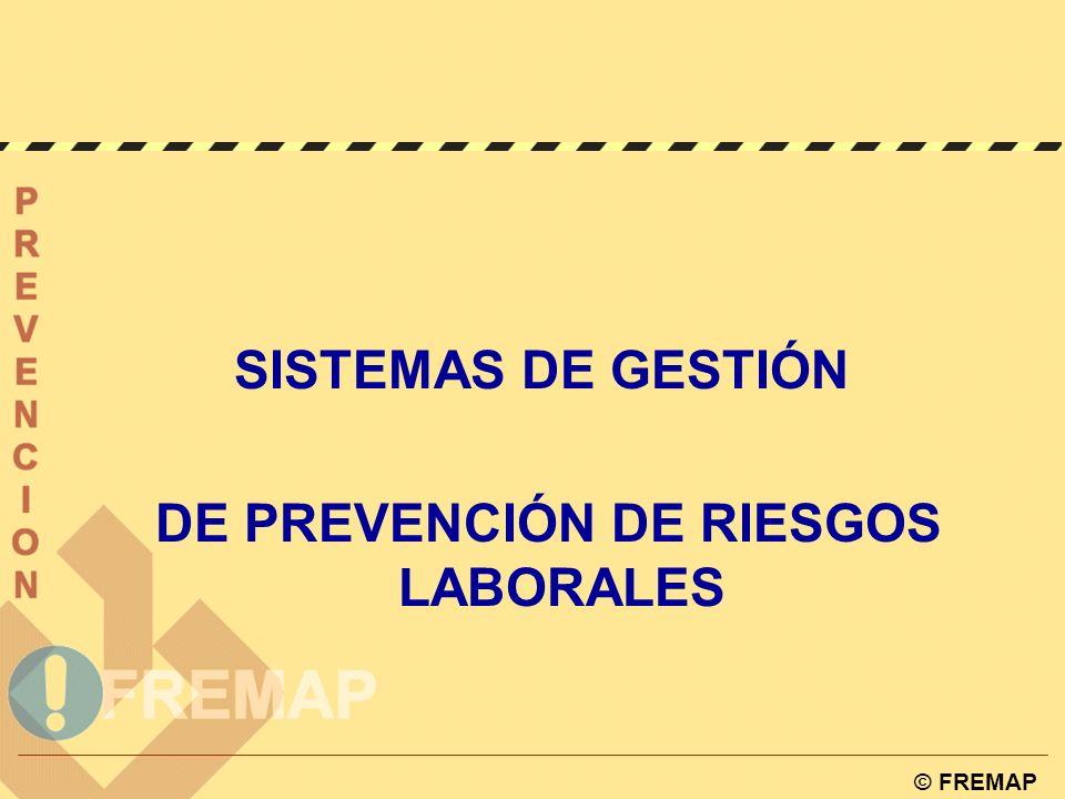 DE PREVENCIÓN DE RIESGOS LABORALES
