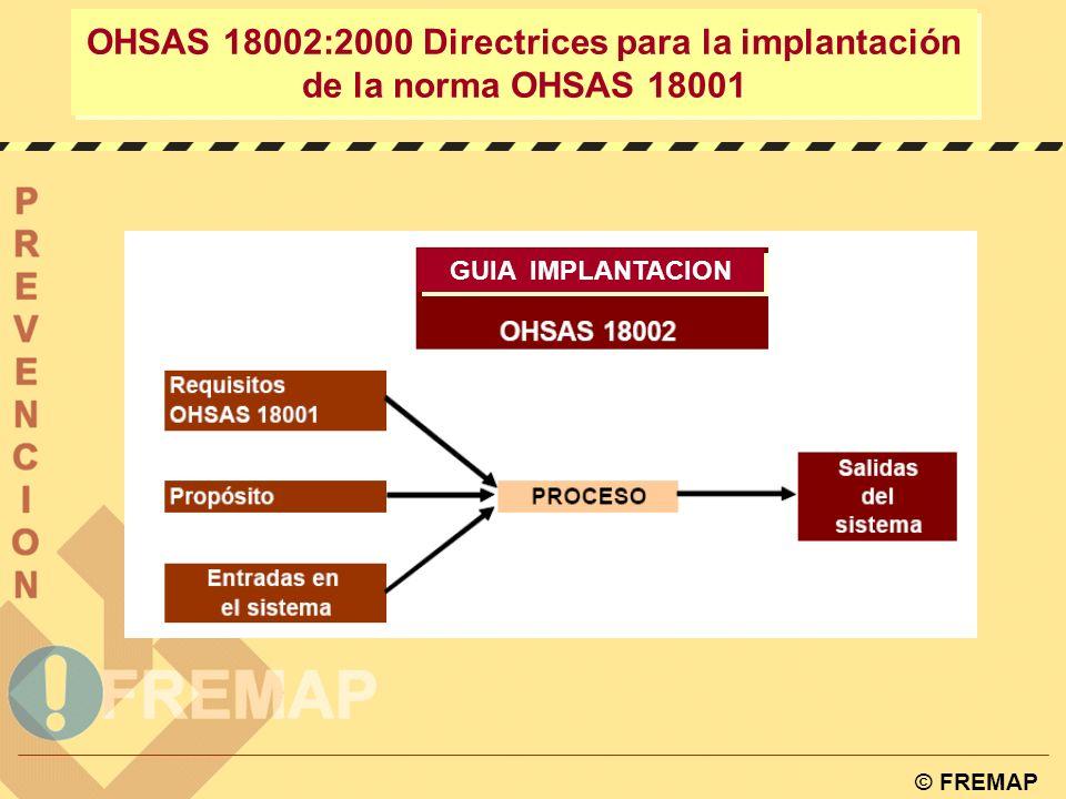 OHSAS 18002:2000 Directrices para la implantación de la norma OHSAS 18001