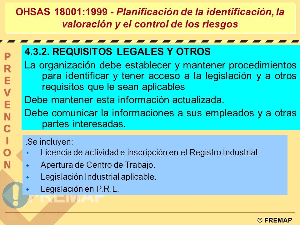 4.3.2. REQUISITOS LEGALES Y OTROS