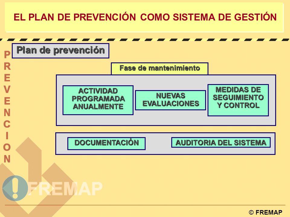 EL PLAN DE PREVENCIÓN COMO SISTEMA DE GESTIÓN Plan de prevención