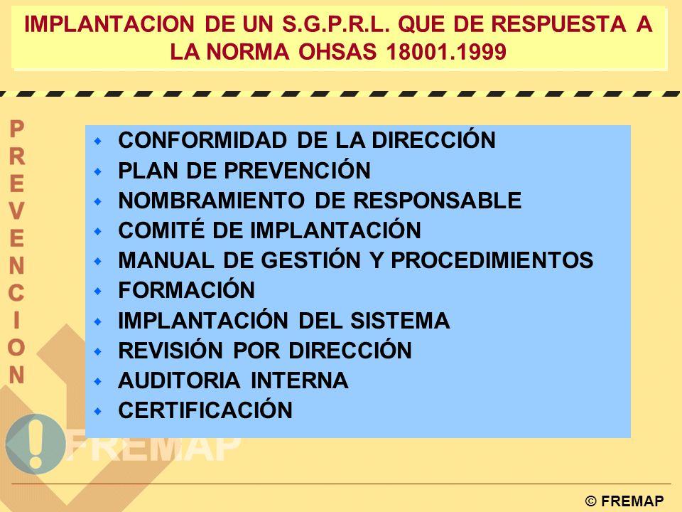 IMPLANTACION DE UN S. G. P. R. L