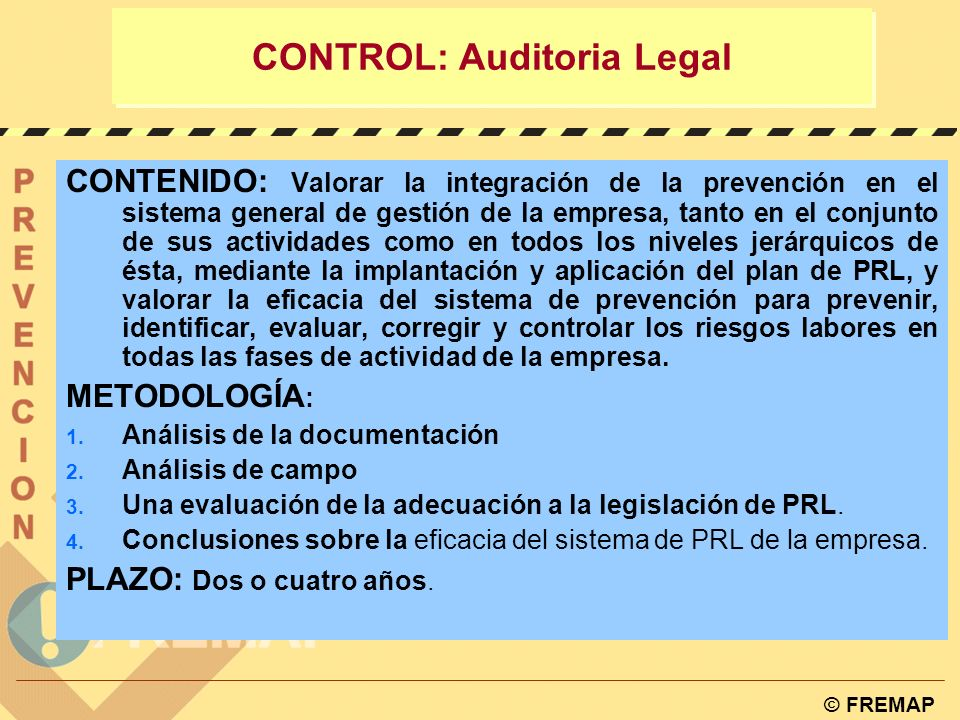 CONTROL: Auditoria Legal
