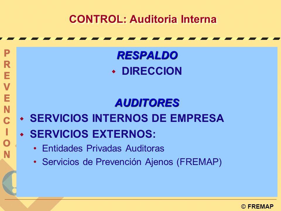 CONTROL: Auditoria Interna