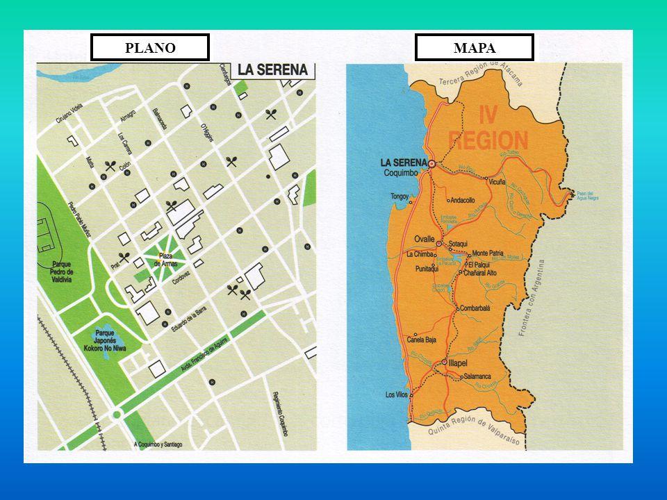 Contenidos planos y mapas representaciones de la tierra for Plano de un vivero forestal