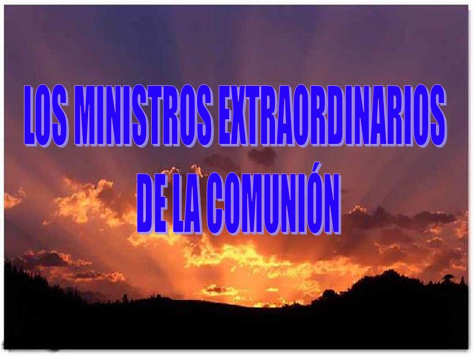 LOS MINISTROS EXTRAORDINARIOS