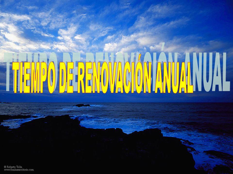 TIEMPO DE RENOVACIÓN ANUAL