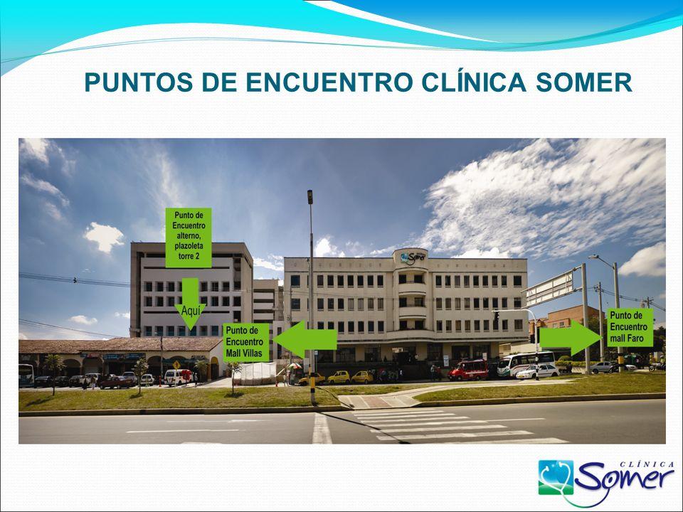 PUNTOS DE ENCUENTRO CLÍNICA SOMER