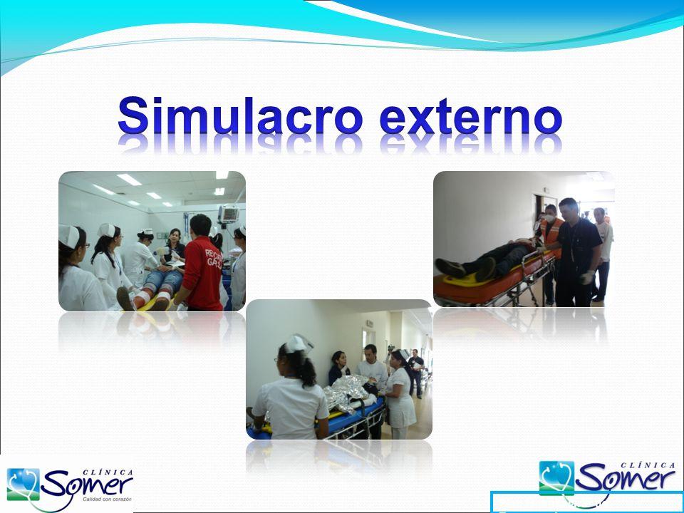 Simulacro externo Plan Hospitalario de Emergencias