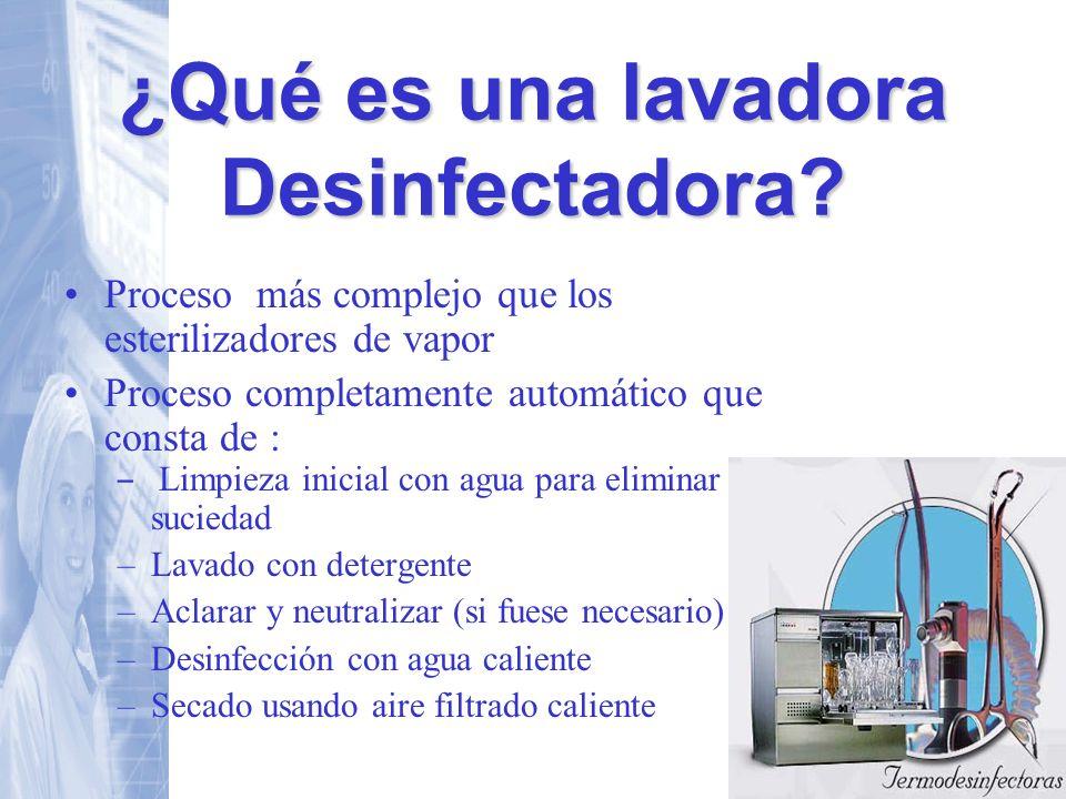 ¿Qué es una lavadora Desinfectadora