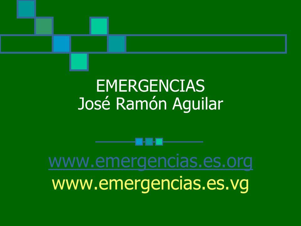 EMERGENCIAS José Ramón Aguilar