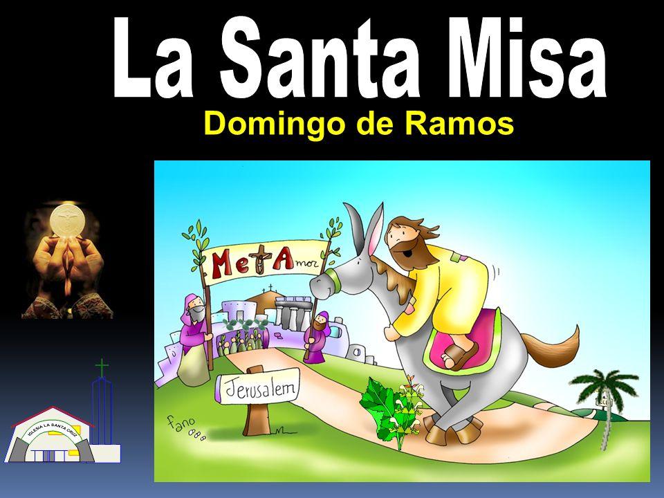 La Santa Misa Domingo de Ramos