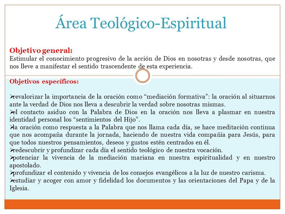 Área Teológico-Espiritual