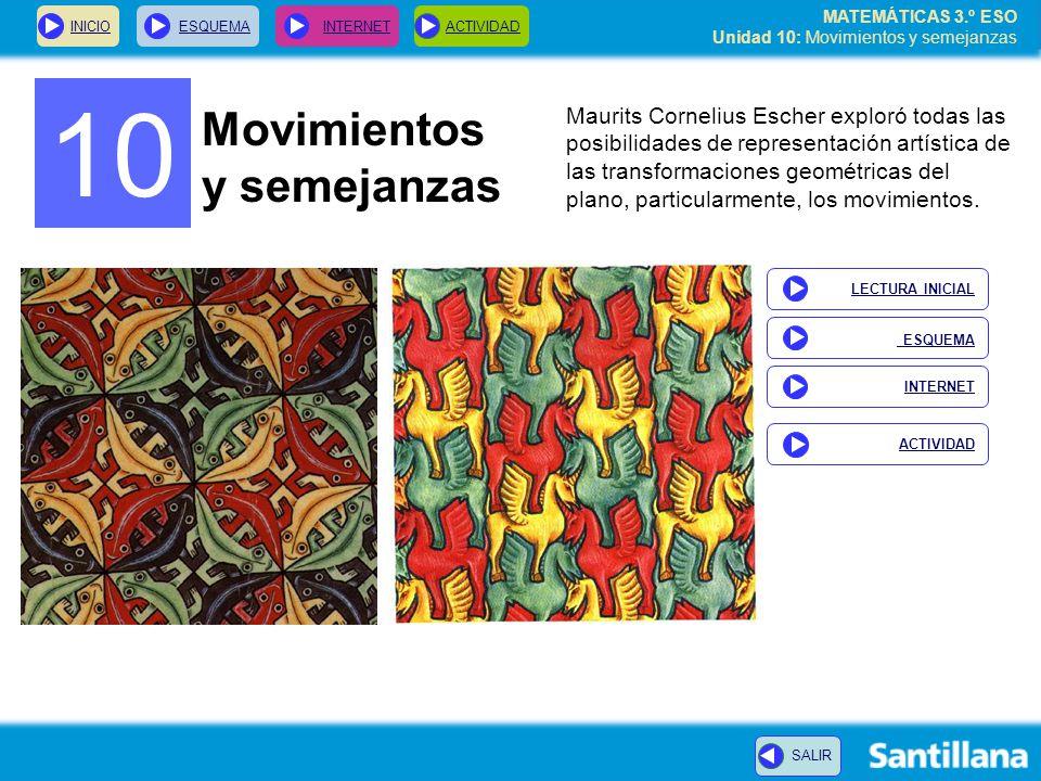 10 Movimientos y semejanzas