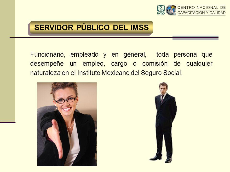 SERVIDOR PÚBLICO DEL IMSS