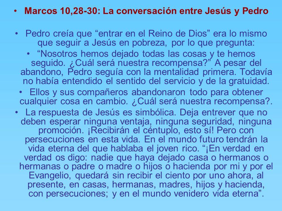 TIEMPO ORDINARIO EVANGELIO : SAN MARCOS 10, ppt descargar