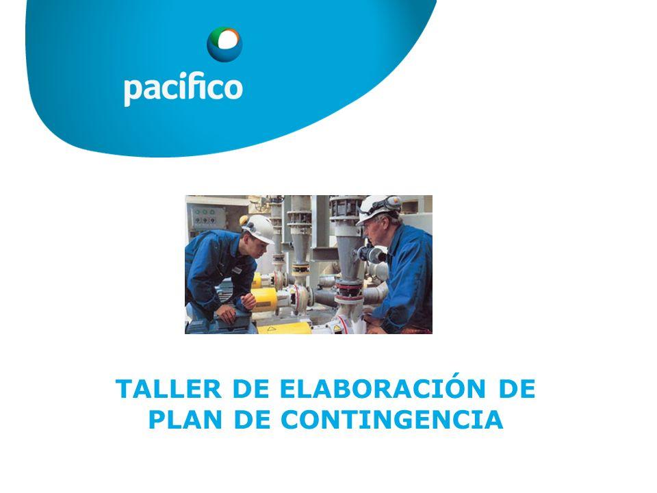 TALLER DE ELABORACIÓN DE PLAN DE CONTINGENCIA