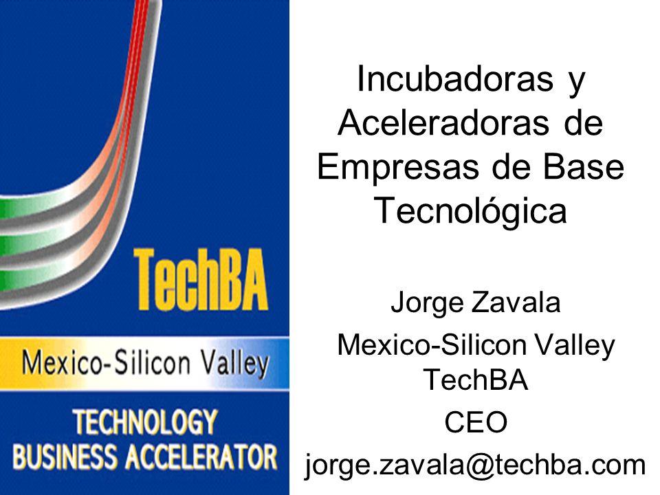 Incubadoras y Aceleradoras de Empresas de Base Tecnológica