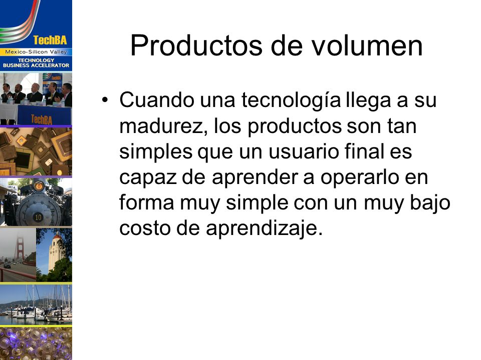 Productos de volumen