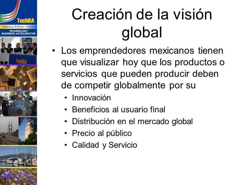 Creación de la visión global