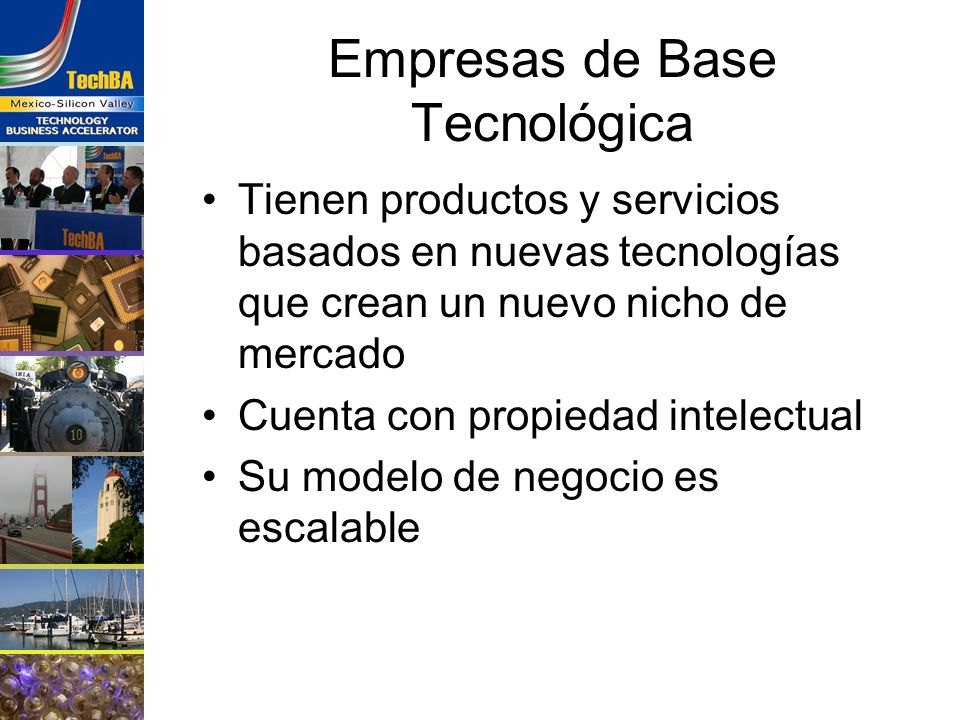 Empresas de Base Tecnológica