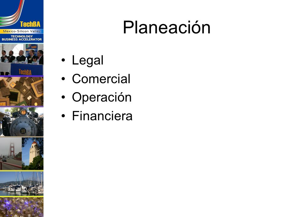 Planeación Legal Comercial Operación Financiera