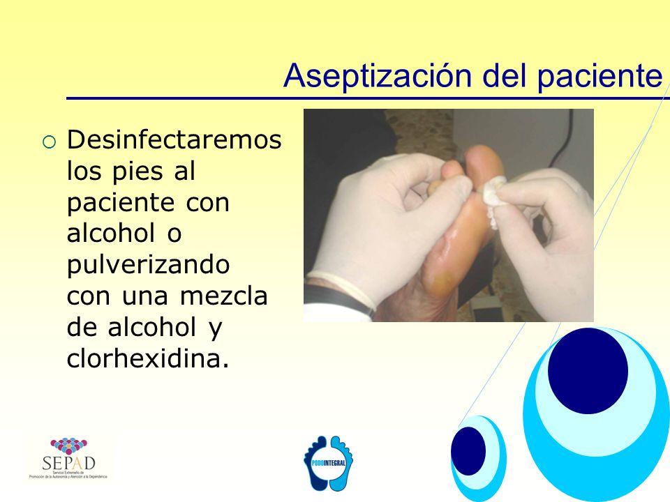 Aseptización del paciente
