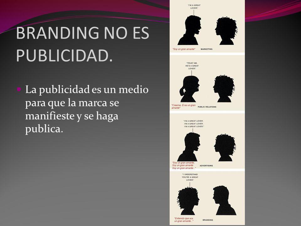 BRANDING NO ES PUBLICIDAD.