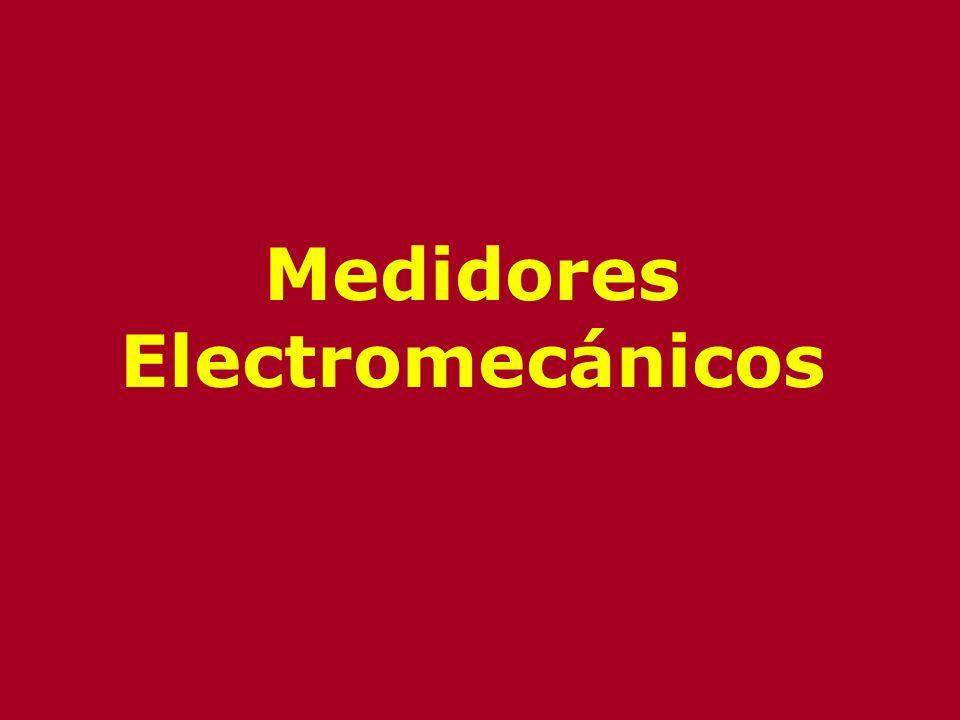 Medidores Electromecánicos