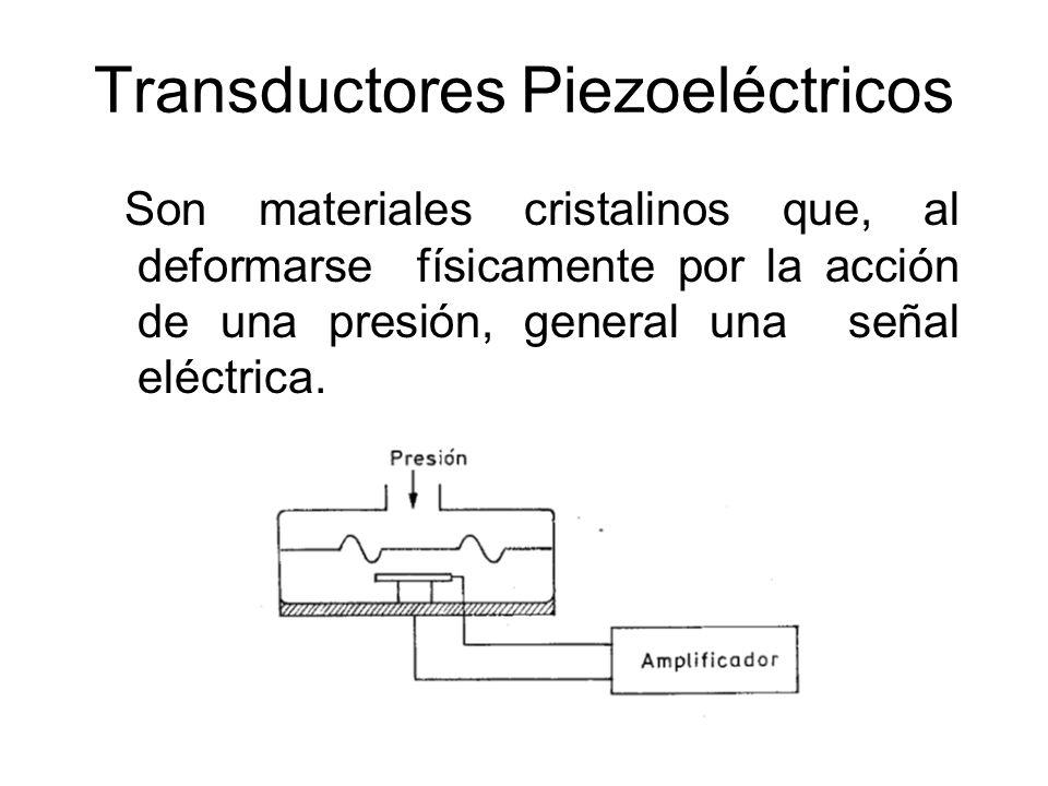 Transductores Piezoeléctricos