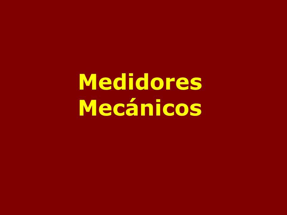 Medidores Mecánicos