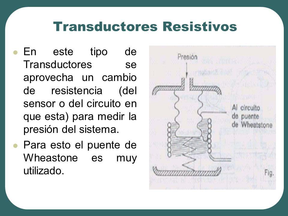 Transductores Resistivos