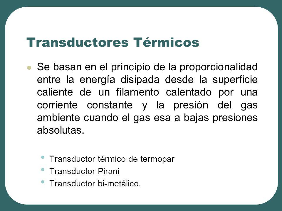 Transductores Térmicos