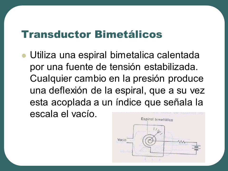 Transductor Bimetálicos