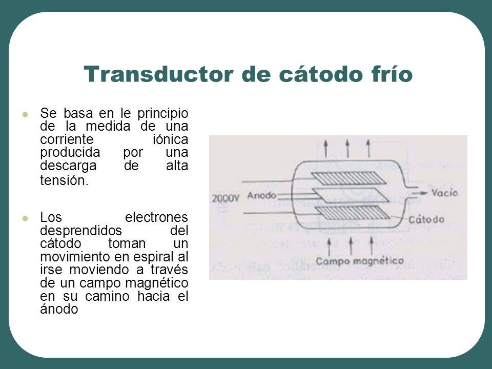 Transductor de cátodo frío