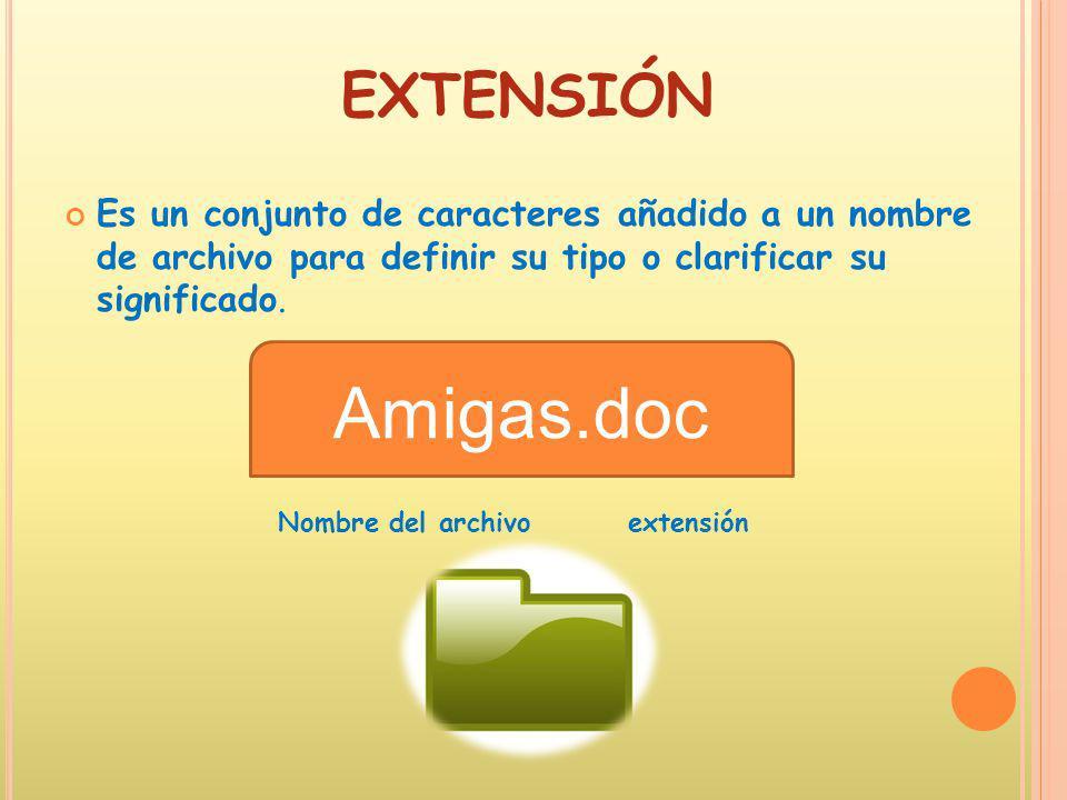 Tipos de archivos y extensiones ppt descargar for Tipos de arboles y su significado