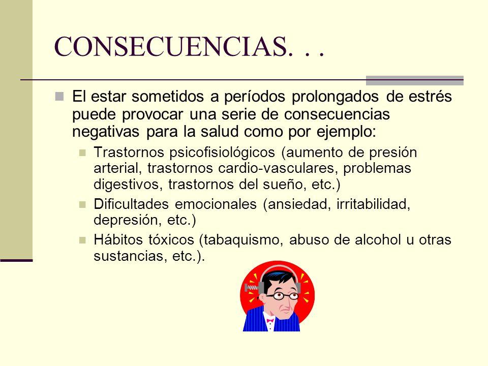 CONSECUENCIAS. . .