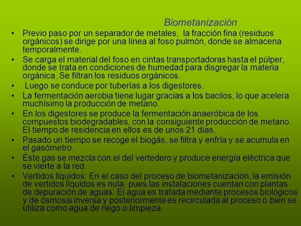 Biometanización
