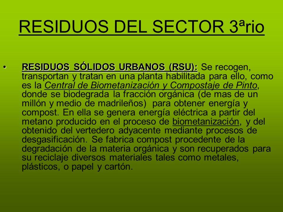 RESIDUOS DEL SECTOR 3ªrio