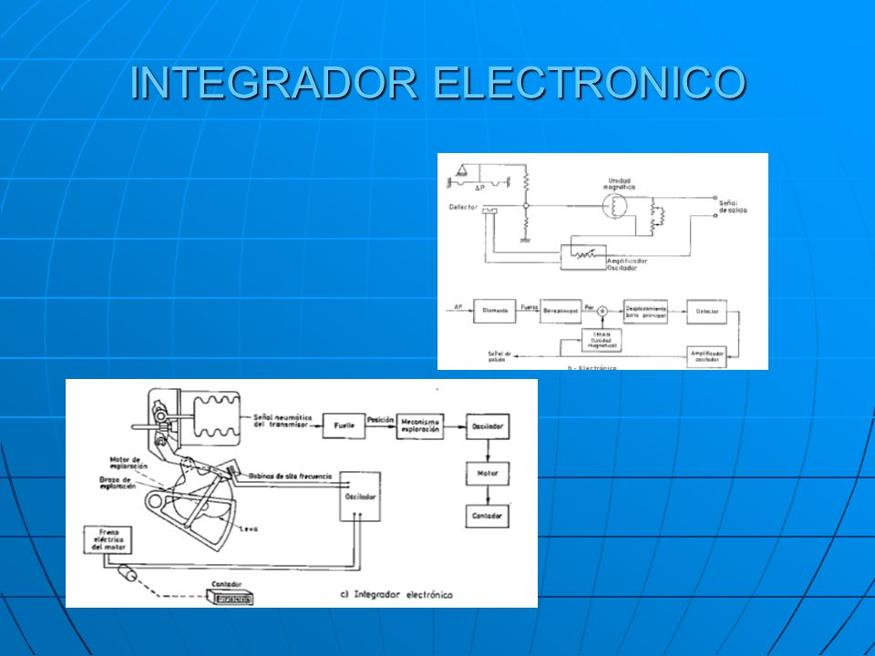 INTEGRADOR ELECTRONICO