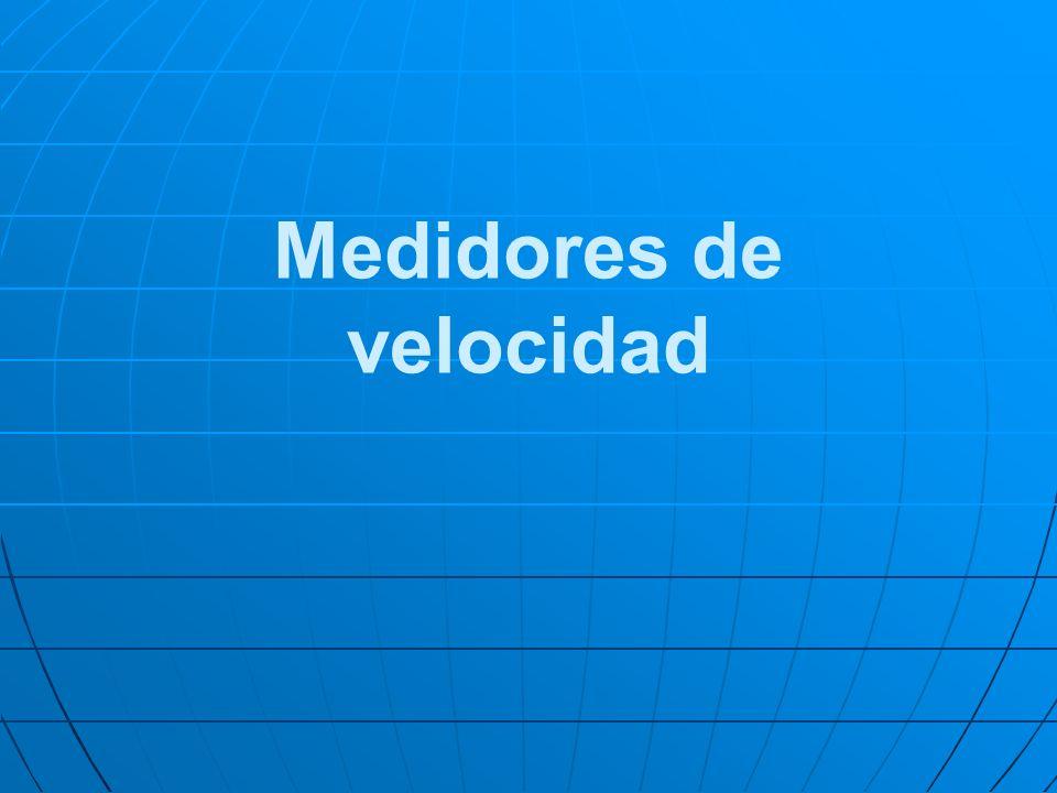 Medidores de velocidad