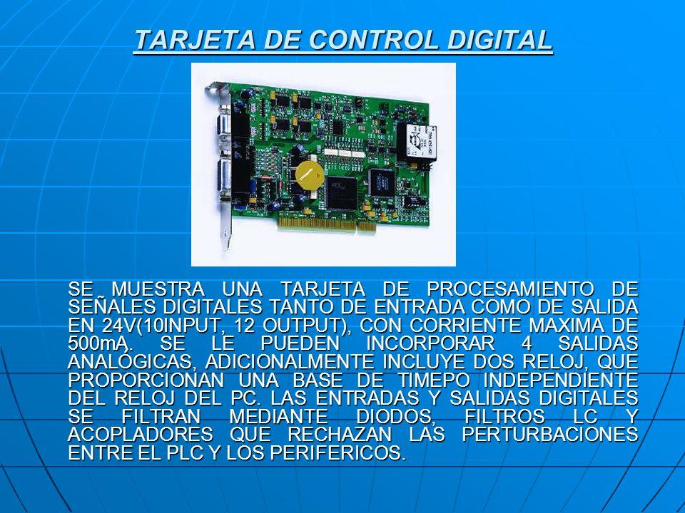 TARJETA DE CONTROL DIGITAL