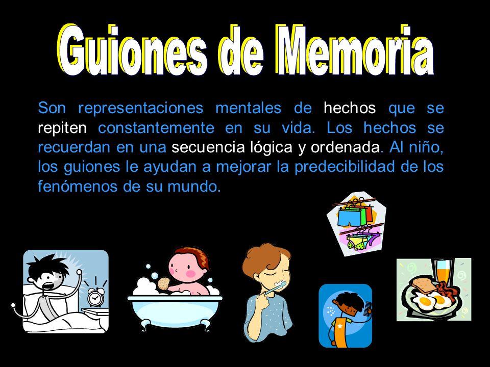 Guiones de Memoria