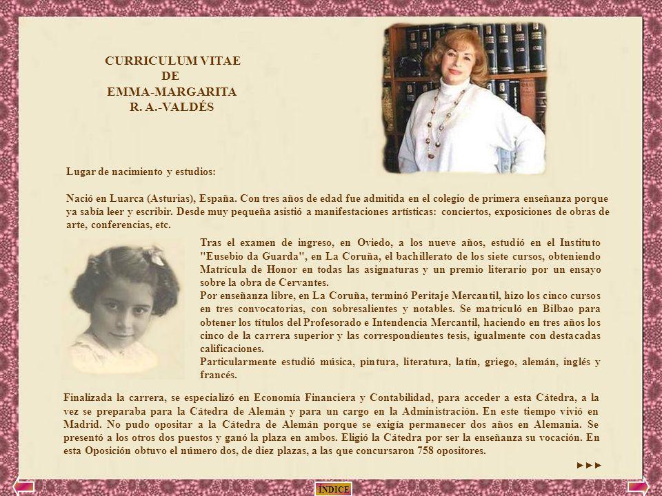 Dedicada con gran admiración a la Autora de los Poemas: Emma ...
